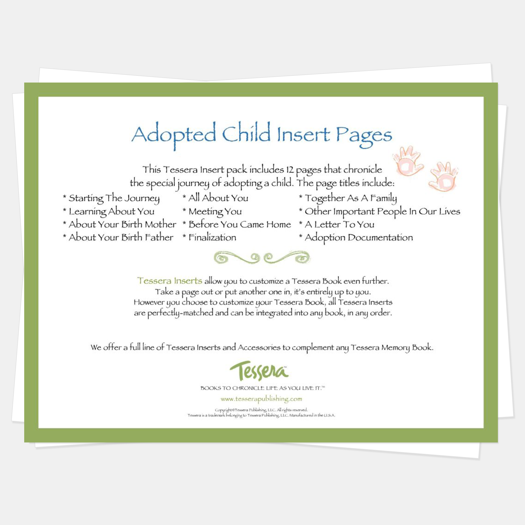 A Keepsake Baby Child Journal with Prompts for... Our Adoption Memory Book