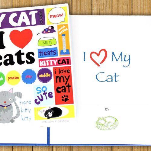 I Love My Cat Journal