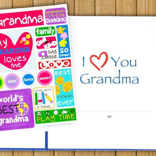 I Love You Grandma Journal