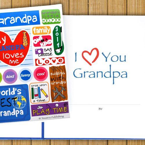 I Love You Grandpa Journal