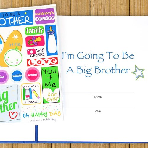I'm Going to be a Big Brother Journal