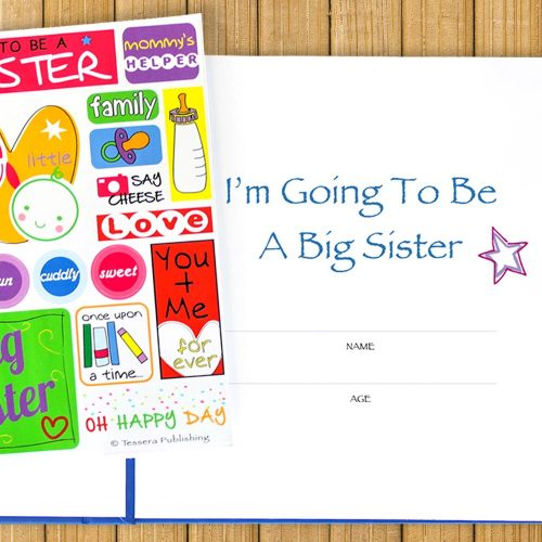 I'm Going to be a Big Sister Journal