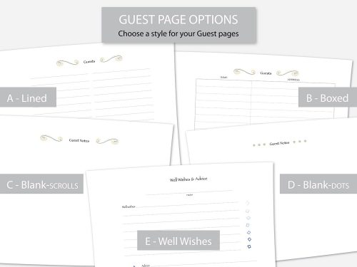 Guest Page Options