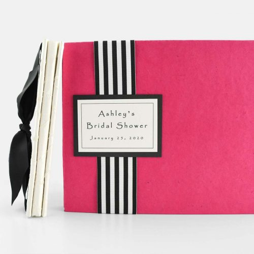 Wedding Shower Guest & Memory Book