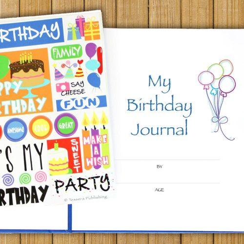 My Birthday Journal